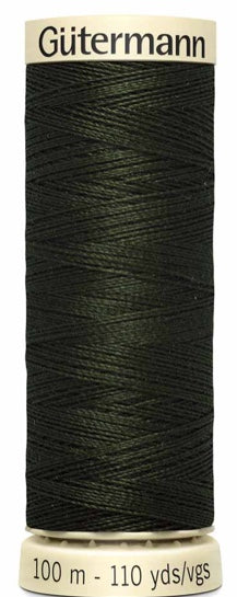 Gütermann Sew All Thread Polyester 100M Evergreen