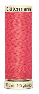 Gütermann Sew All Thread Polyester 100M Coral Red