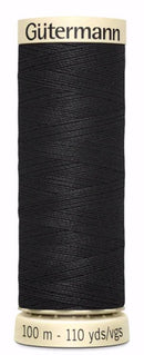 Gütermann MCT Sew All Thread Polyester Black