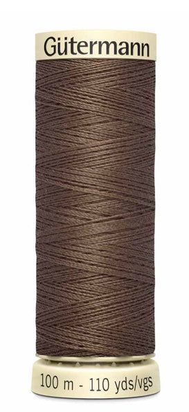 Gütermann  Sew All Thread Polyester 100M Cocoa