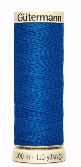 Gütermann Sew All Thread Polyester Electric Blue