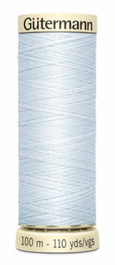 Gütermann Sew All Thread Polyester 100M Silver Shine