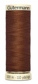 Gütermann Sew All Thread Polyester 100M Cinnamon