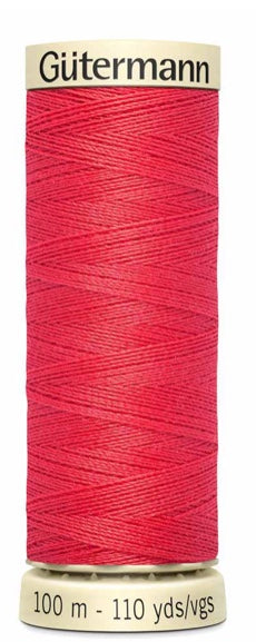 Gütermann Sew All Thread Polyester 100M Flamingo