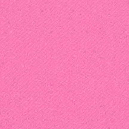 Kona Cotton Solids -  Sassy Pink $10.80/Metre