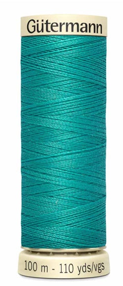 Gütermann Sew All Thread Polyester 100M Caribbean Green