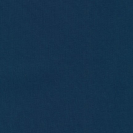 Kona Cotton Solids - Navy $10.80/Metre