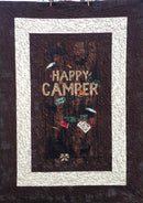 "Happy Camper Panel Quilt Kit 51"" X 68"""