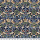 Strawberry Thief - Navy $16.80/Metre