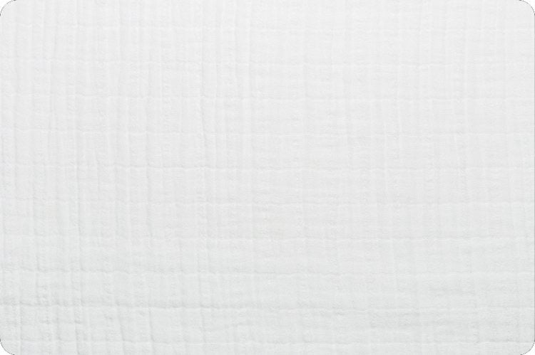 Solid Embrace® Snow Double Gauze $16.96/Metre