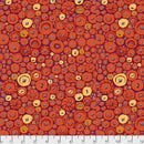 Kaffe Fassett Collective Button Mosaic Orange - Feb 2021