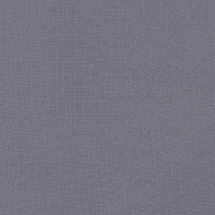 Kona Cotton Solids - Medium Grey $10.80/Metre