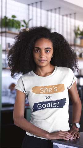She's Got Goals! Length Check Shirt *Limited Edition* - ships 12/23