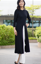 Load image into Gallery viewer, Pullover Maxi Tunic with Split