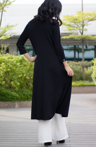 Pullover Maxi Tunic with Split