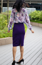 Load image into Gallery viewer, Lined Pockets High Waisted Pencil Skirt