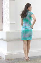 Load image into Gallery viewer, Ophelia Radiance Checkered Cheongsam