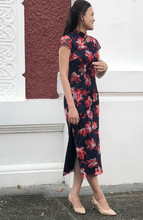 Load image into Gallery viewer, Regina Lace Cheongsam Dress