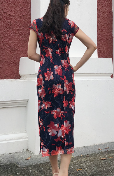 Regina Lace Cheongsam Dress
