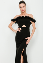 Load image into Gallery viewer, Ruffle Off Shoulder Dress