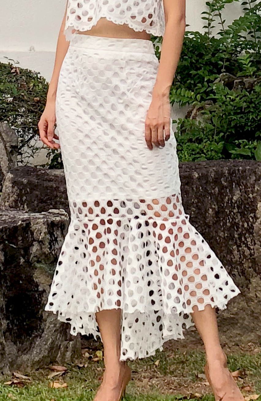 Rey Lace Mermaid Skirt