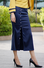 Load image into Gallery viewer, Marina Button Down Skirt