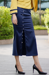 Marina Button Down Skirt