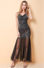 Load image into Gallery viewer, Imogen Bright Tulle Maxi Dress