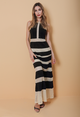 Kelsey Panel Maxi Dress