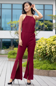 Cami Crossback with Cut Out Jumpsuit