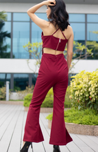 Load image into Gallery viewer, Cami Crossback with Cut Out Jumpsuit