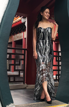 Load image into Gallery viewer, Bijou Fishtail Maxi Dress