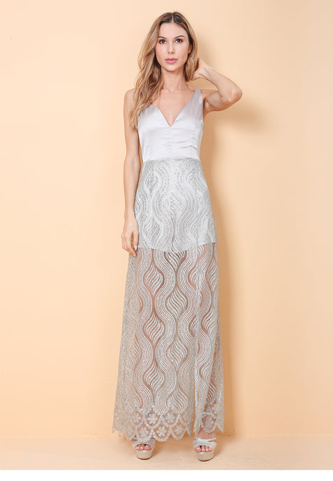 Gwyneth Shorts Insert Maxi Dress