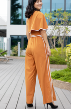 Load image into Gallery viewer, One Shoulder Tie Knot Jumpsuit
