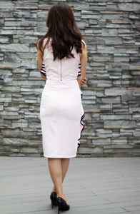 Rebecca Ruffle Pencil Skirt