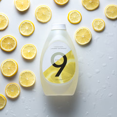 9 Elements lemon scented laundry detergent