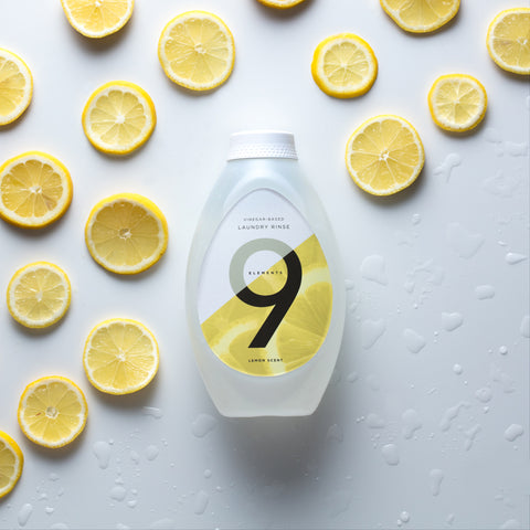 9 Elements lemon scented laundry rinse
