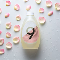 9 Elements rose scented laundry detergent