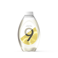 9 Elements lemon scented fabric softener rinse