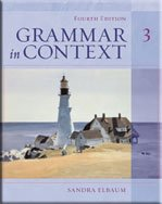 Grammar In Context 3, Fourth Edition (Student Book) (Bk. 3)