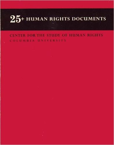 25+ Human Rights Documents