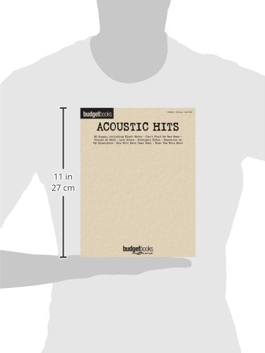 Acoustic Hits: Budget Books (Hal Leonard Budget Books)