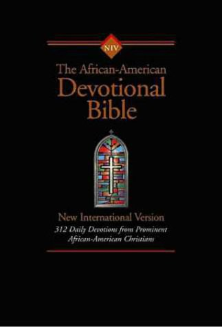 Niv African-American Devotional Bible Softcover