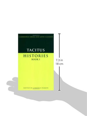 Tacitus: Histories Book I (Cambridge Greek And Latin Classics)
