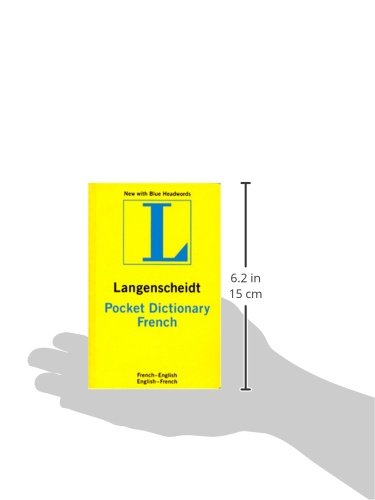 Langenscheidt French Pocket Dictionary: French/English/English/French (Langenscheidt'S Pocket Dictionaries) (French And English Edition)
