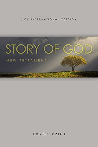 Niv, The Story Of God New Testament, Large Print, Paperback