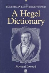 A Hegel Dictionary
