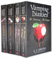 Vampire Diaries 1-4 Boxed Set B Format (Tesco)