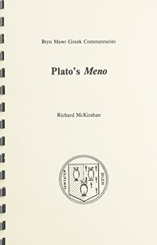 Plato'S Meno (2 Voumes) (Greek Edition)