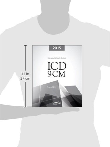 Icd-9-Cm 2015 Professional Edition For Hospitals, Vols 1,2&3 (Icd-9-Cm For Hospitals Vols 1,2&3 Professional Edition, Spir)